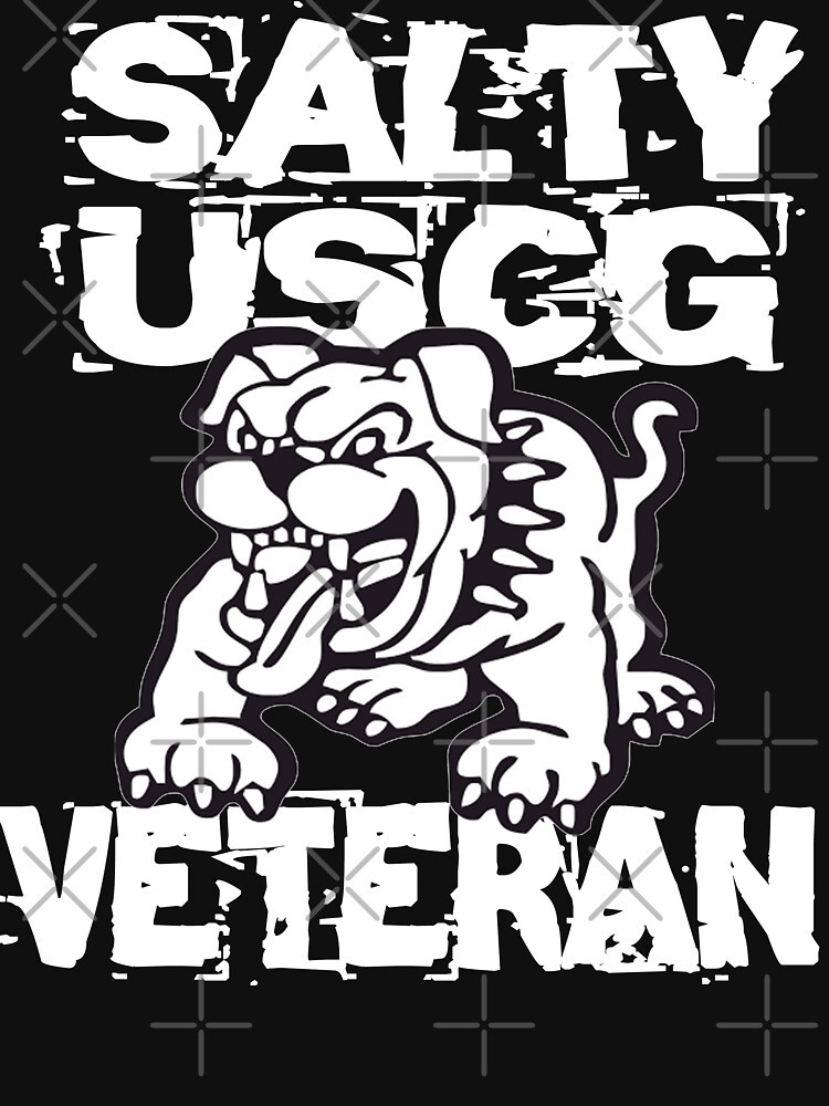 Salty Dog USCG Veteran Design by MbrancoDesigns by Mbranco