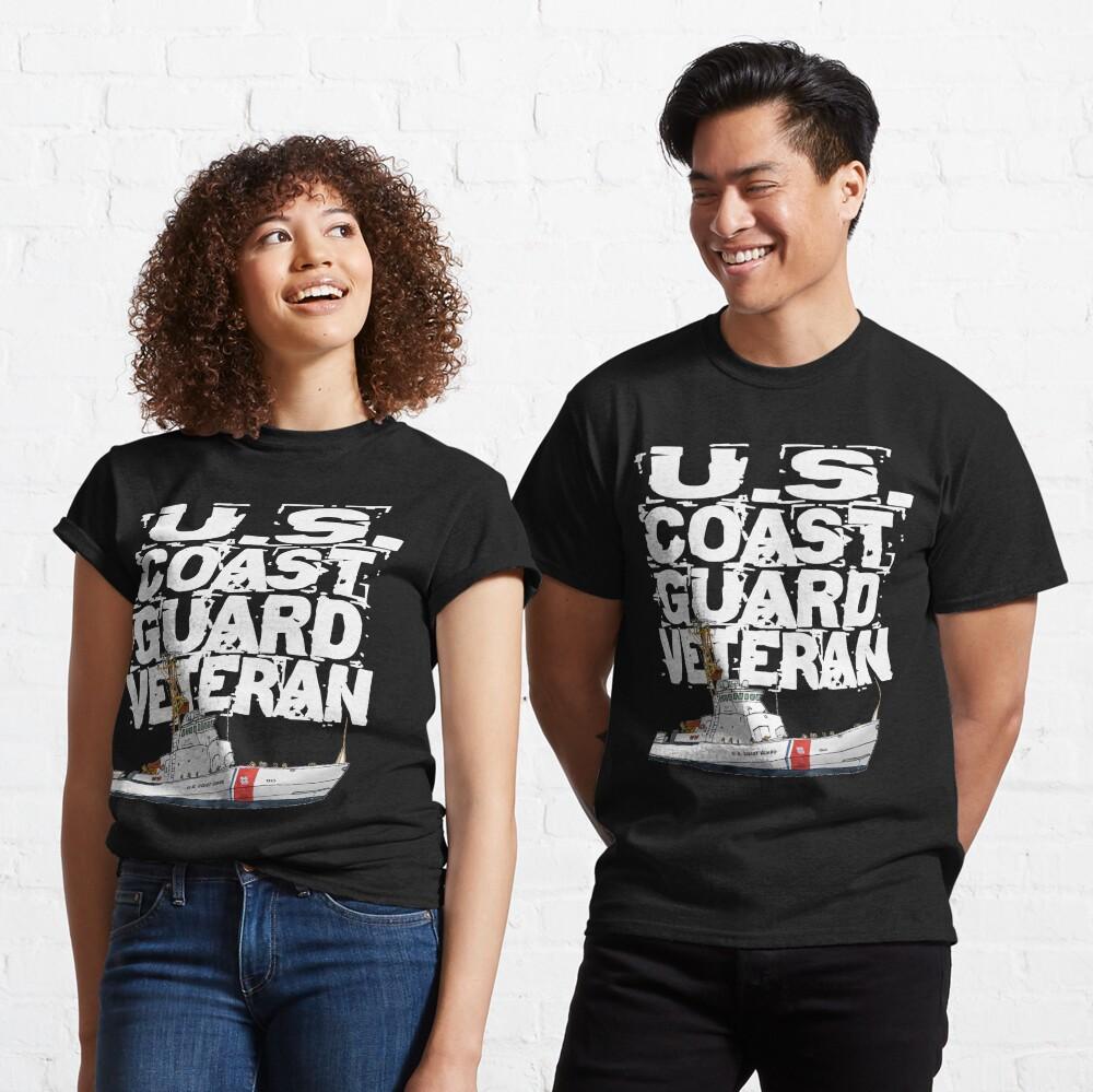 US Coast Guard Veteran Design by MbrancoDesigns Classic T-Shirt