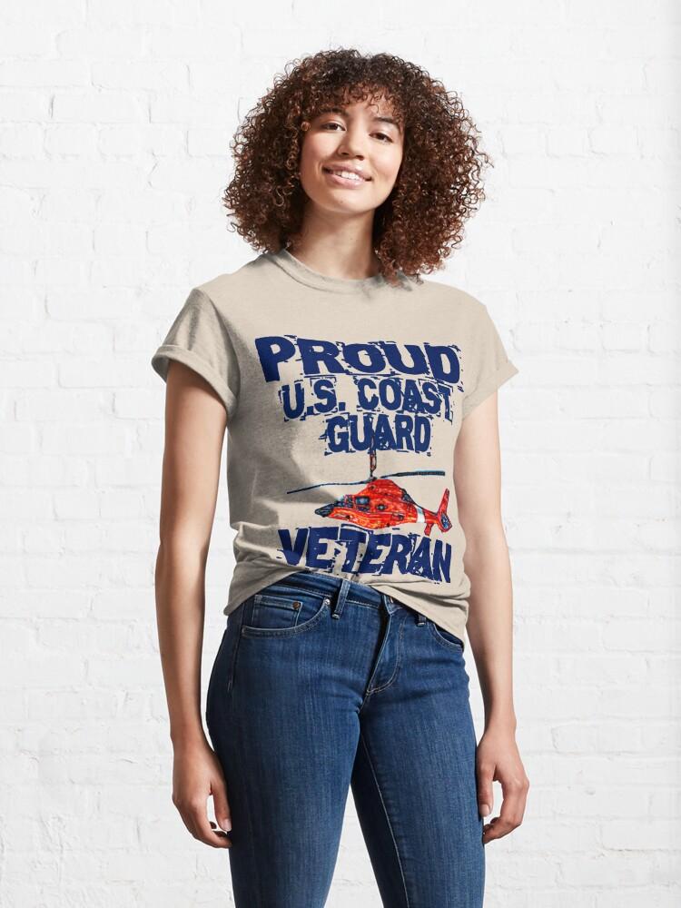 Alternate view of Proud CG Veteran Design by MbrancoDesigns Classic T-Shirt