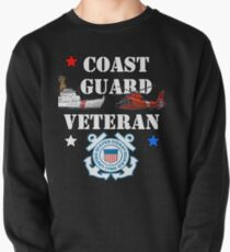 Coast Guard Veteran Design by MbrancoDesigns Pullover