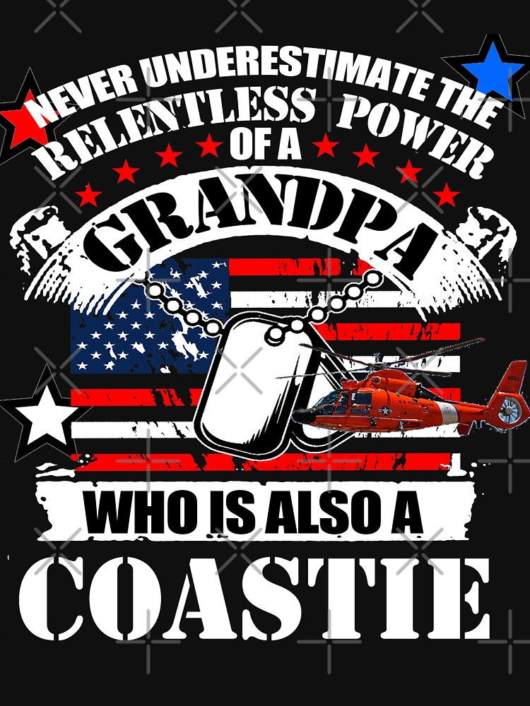 Grandpa Coastie by MbrancoDesigns by Mbranco