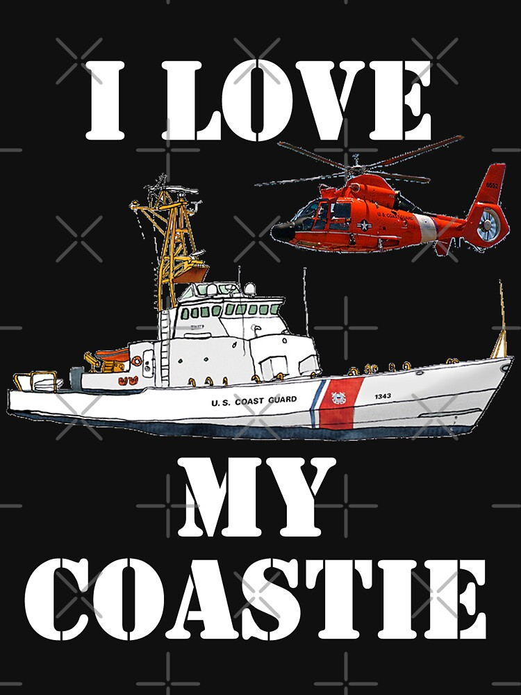 I Love My Coastie Design by MbrancoDesigns by Mbranco