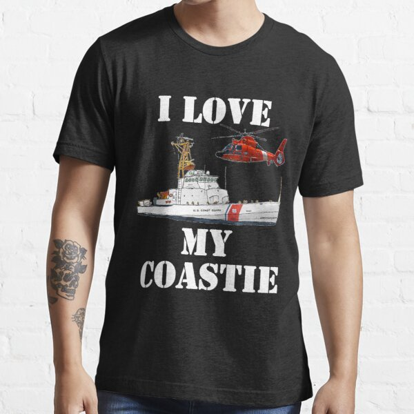 I Love My Coastie Design by MbrancoDesigns Essential T-Shirt