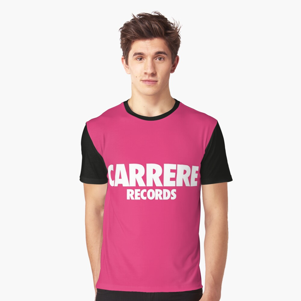 CARRERE RECORDS Graphic T-Shirt