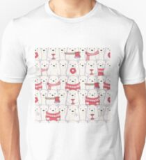 Ice Bear's sweater weather Slim Fit T-Shirt