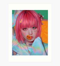 "BLACKPINK Jisoo ""Idol"" Art Print"