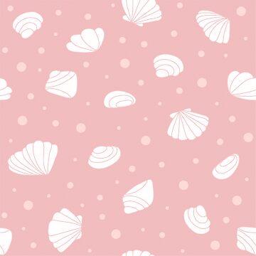 Seashells pattern by alijun