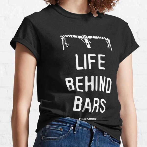 Life Behind Bars - Road Cycling Classic T-Shirt