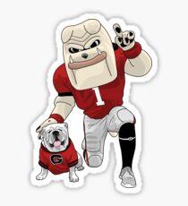 UGA & Hairy Dawg Sticker