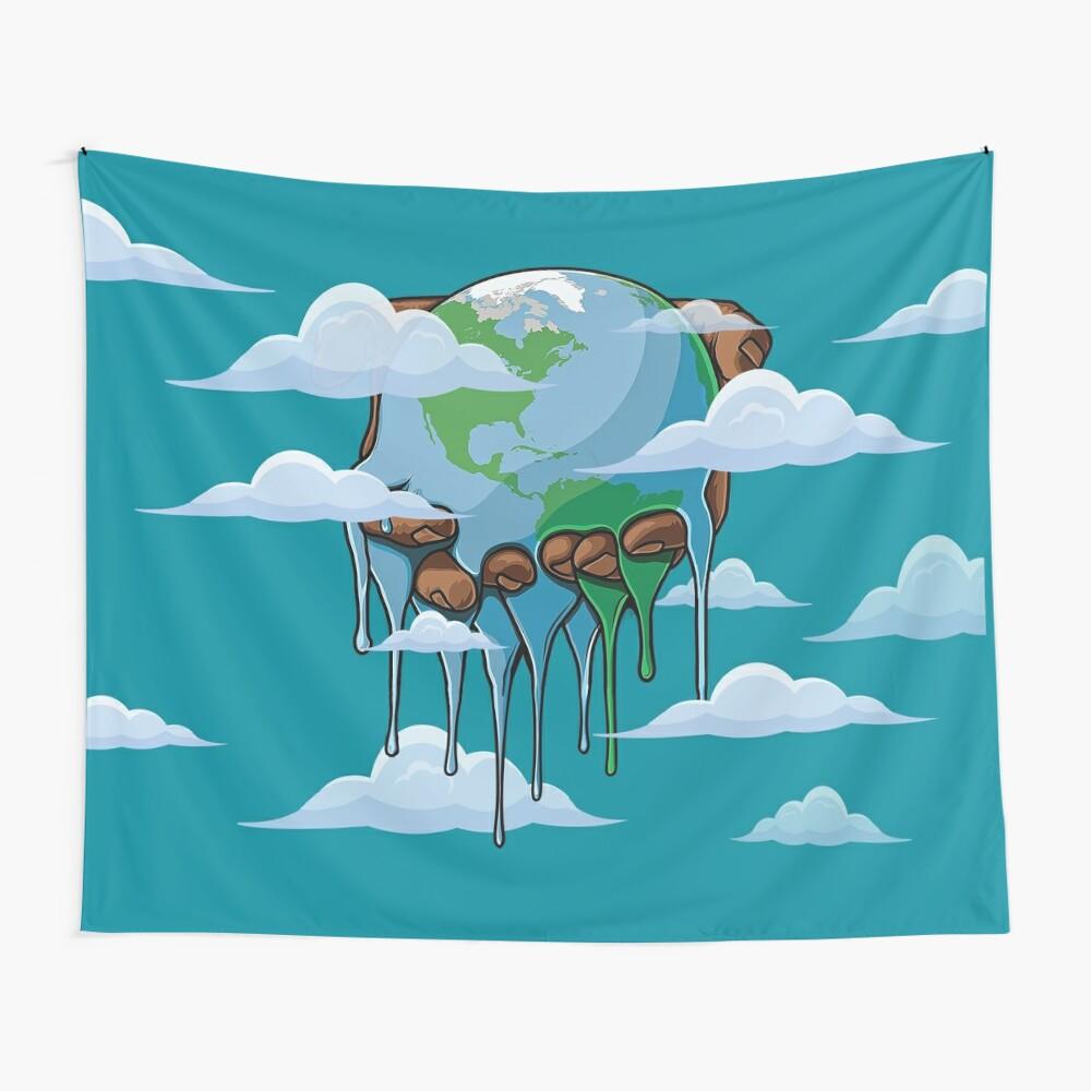 Die Welt gehört dir Wandbehang