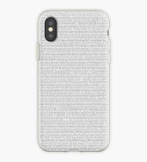entire shrek script iPhone Case