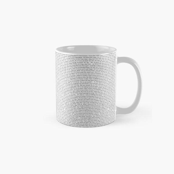 entire shrek script Classic Mug