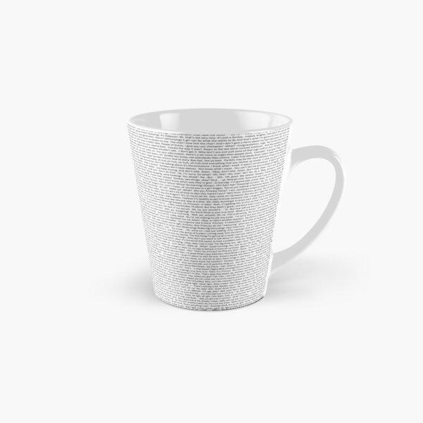 entire shrek script Tall Mug