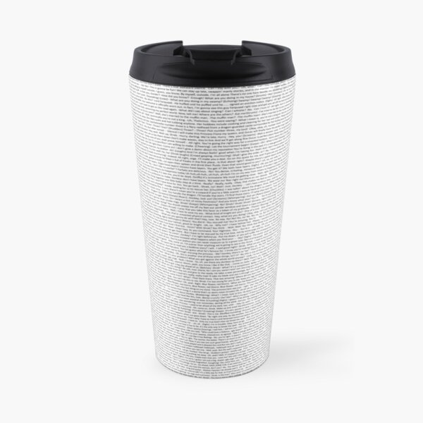 entire shrek script Travel Mug