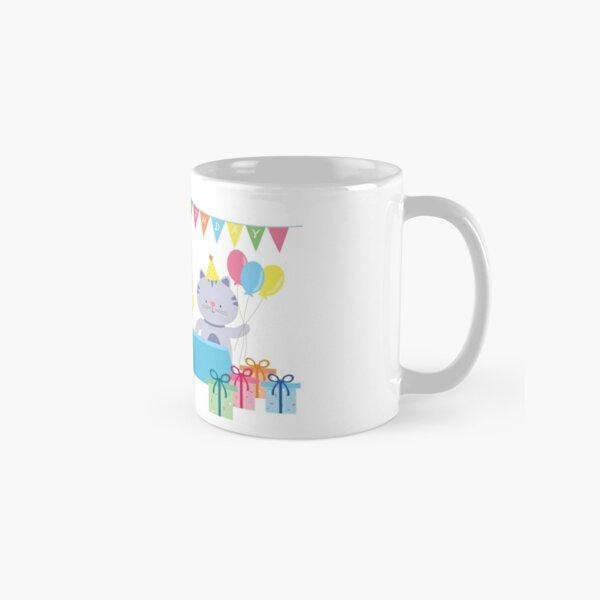 Happy Cat Birthday! Classic Mug