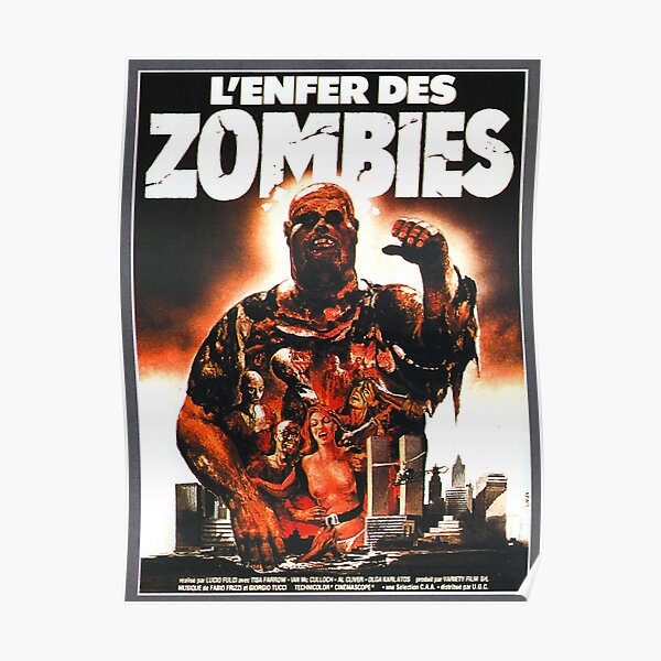 Zombie / Zombie Flesh Eaters Poster