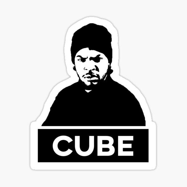 ICE CUBE BLACK & WHITE Sticker