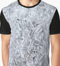 Abstract Ice Texture Graphic T-Shirt