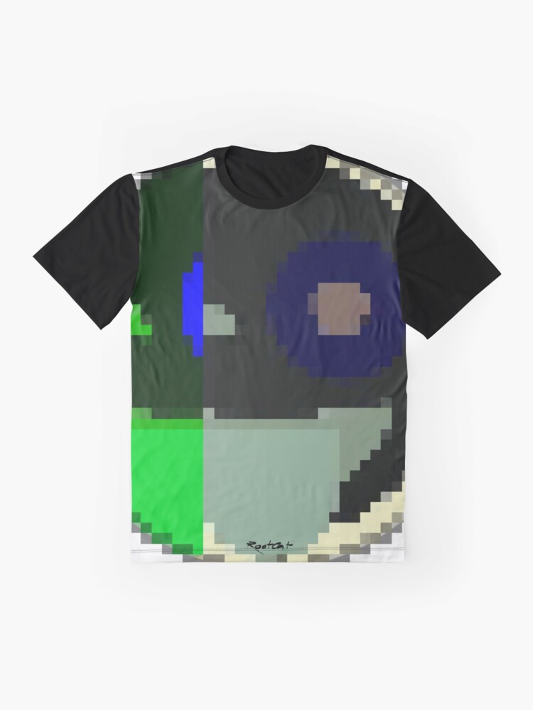 Alternate view of Sticky Emojii 17 by RootCat  Graphic T-Shirt