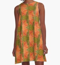 Hibiscus Series A-Line Dress