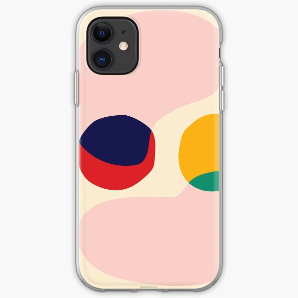 Happy shapes iPhone Soft Case