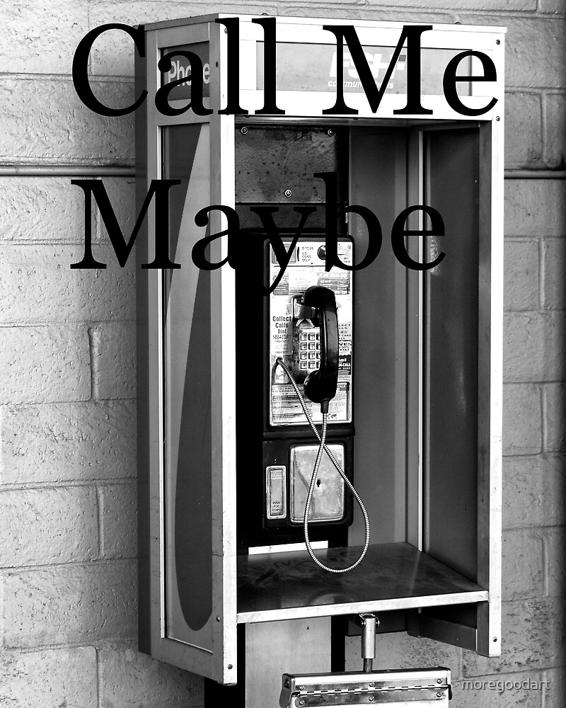Call Me, Old School by moregoodart