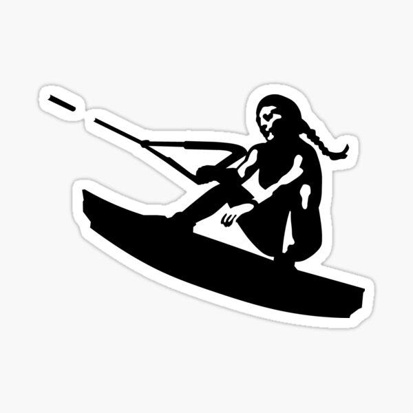 Wakeboarding Sticker