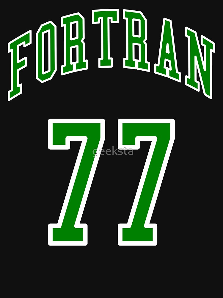 FORTRAN 77 - Green/White Design for Veteran Programmers by geeksta