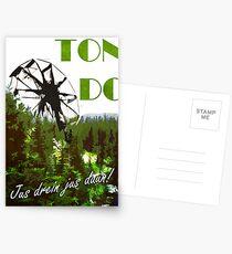 The 100 - Vintage Travel Poster (Ton DC) Postcards