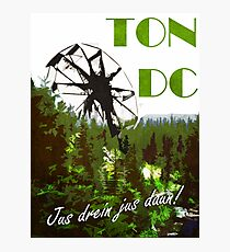 The 100 - Vintage Travel Poster (Ton DC) Photographic Print