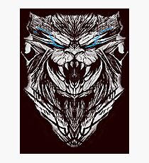 Teostra W. Trophy Head  Photographic Print