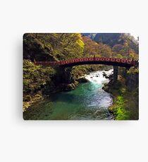 Nikko National Park - Japan  Canvas Print