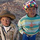 Native Peruvian Boys by Remijn