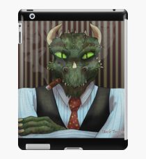 Anthro Dragon iPad Case/Skin