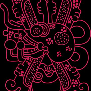 Aztec Skull Graphic by portokalis