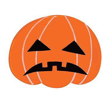 Halloween Pumpkin by Maka4