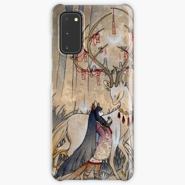The Wish - Kitsune Fox Deer Yokai Samsung Galaxy Snap Case