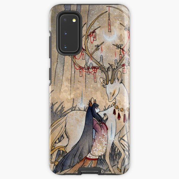 The Wish - Kitsune Fox Deer Yokai Samsung Galaxy Tough Case