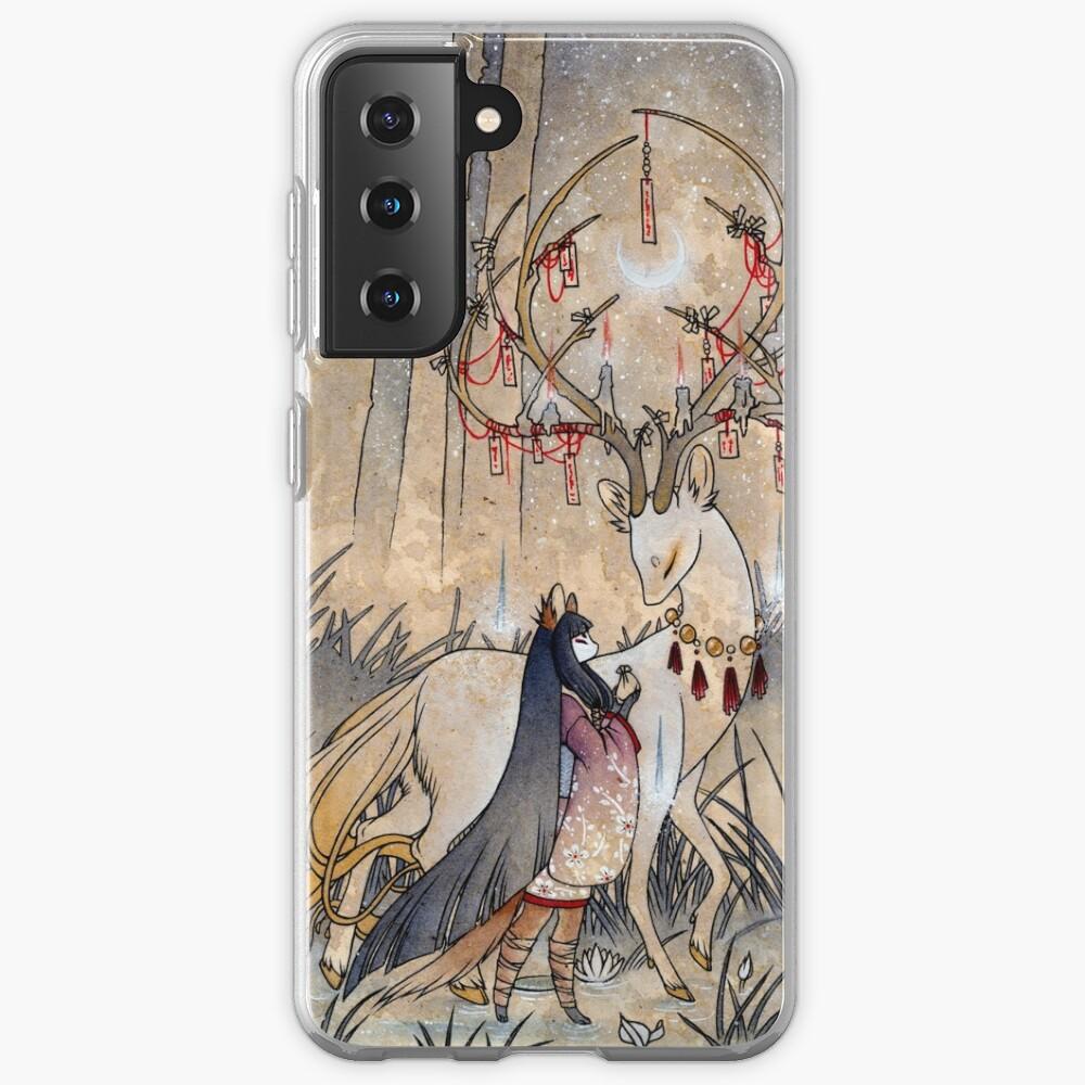 The Wish - TeaKitsune Fox Yokai Case & Skin for Samsung Galaxy