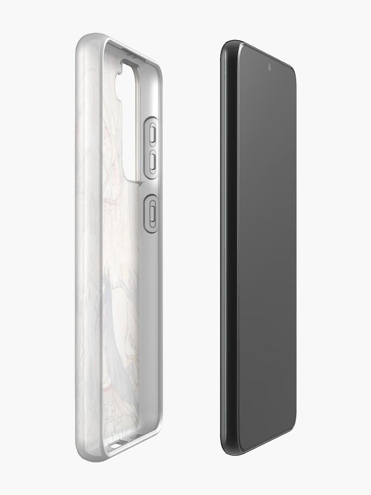 Alternate view of The Wish - TeaKitsune Fox Yokai Case & Skin for Samsung Galaxy