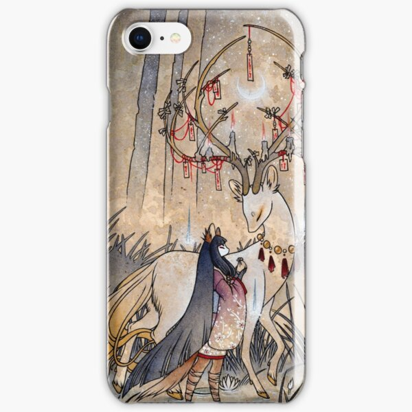 The Wish - Kitsune Fox Deer Yokai iPhone Snap Case