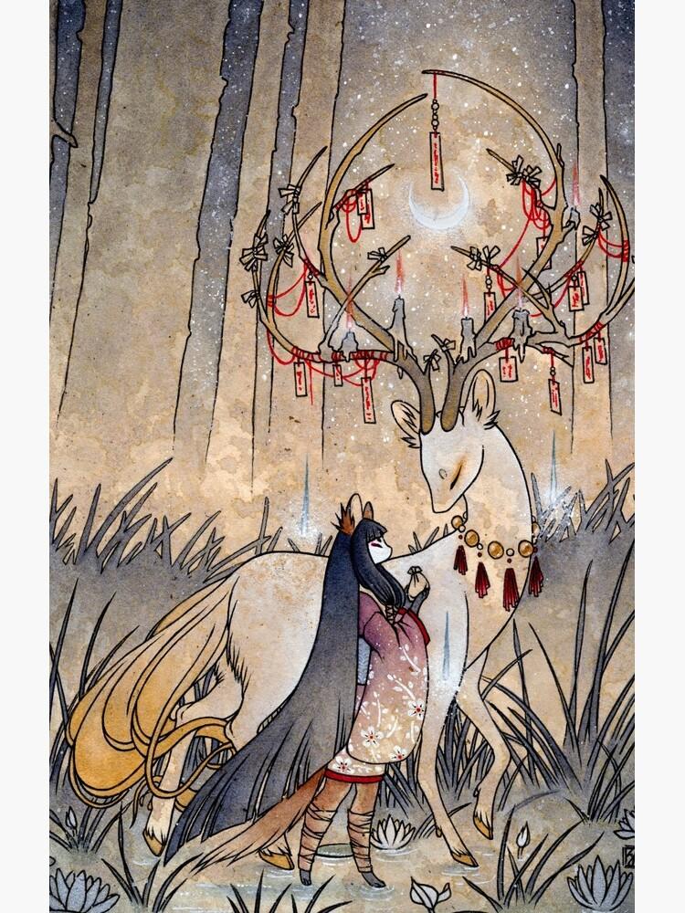 The Wish - TeaKitsune Fox Yokai by TeaKitsune