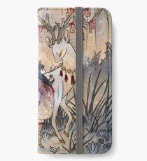 Vinilo o funda para iPhone El deseo - Kitsune Fox Deer Yokai