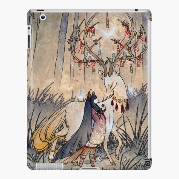 The Wish - TeaKitsune Fox Yokai iPad Snap Case