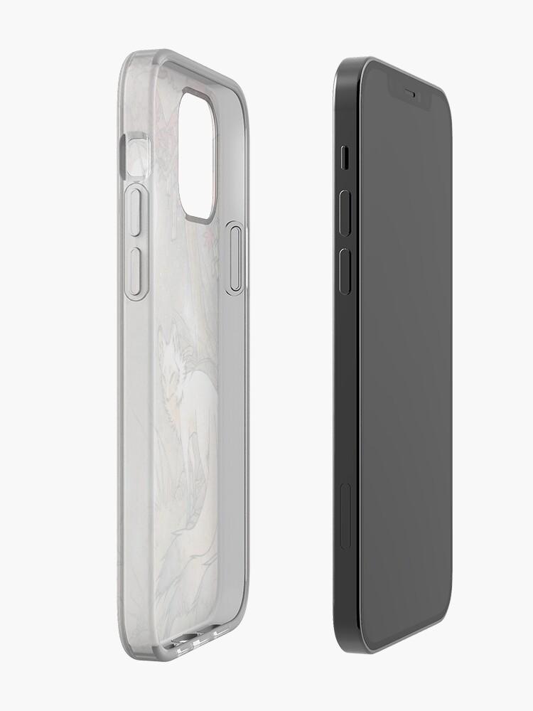 Alternate view of Fox & Wisps - TeaKitsune Fox Yokai iPhone Case & Cover