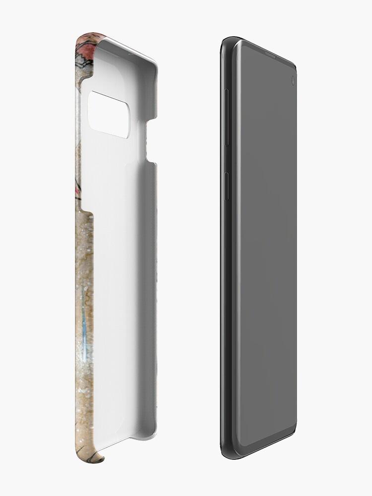 Alternate view of Fox & Wisps - Kitsune Yokai Foxfire  Cases & Skins for Samsung Galaxy