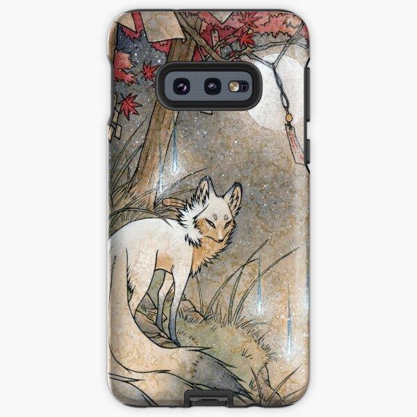 Fox & Wisps - Kitsune Yokai Foxfire  Samsung Galaxy Tough Case
