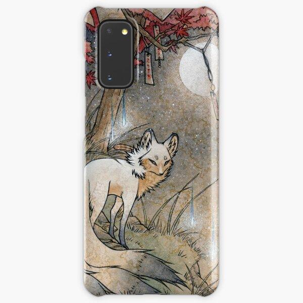 Fox & Wisps - Kitsune Yokai Foxfire  Samsung Galaxy Snap Case