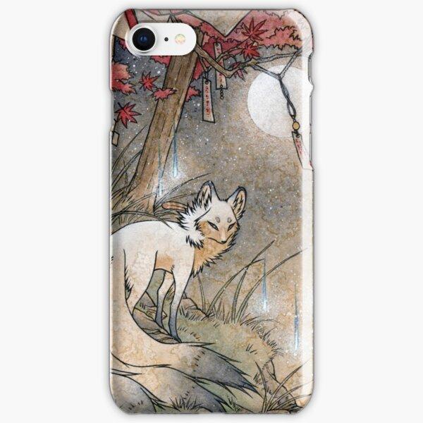 Fox & Wisps - Kitsune Yokai Foxfire  iPhone Snap Case
