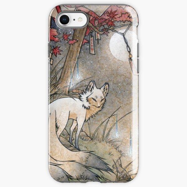 Fox & Wisps - Kitsune Yokai Foxfire  iPhone Tough Case